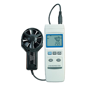 Economical Vane Anemometer with 2.83 Inch (72mm) Diameter Probe | HHF802