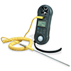4-IN-1 Air Velocity Meter - Anemometer, Hygrometer, Light Meter, Thermometer