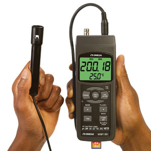Handheld Data Logging Meter with SD Card | HHWT-SD1 Series