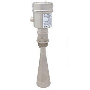 Pulse Radar Solids Level Transmitter (Minimal Dust)