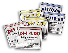 Single-use Packages - pH buffer pouches | PHA-20 Obsolete Product