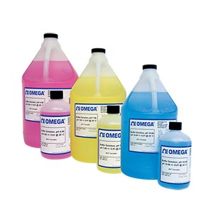 예혼합 pH 캘리브레이션 용액과 탈이온수 | PHA-4 시리즈
