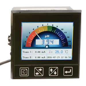 pH/ORP Transmitter and Controller with TFT color display | PHCN-85