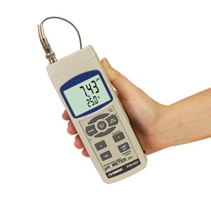 pH/ORP Meter with Real-Time Data Logger | PHH-SD1
