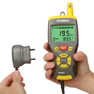 Handheld Multi-Function Thermo-Hygrometer | RH650