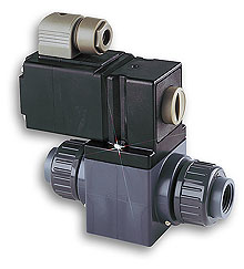 OMEGA-FLO 2-way PVC Solenoid Valves 1/2