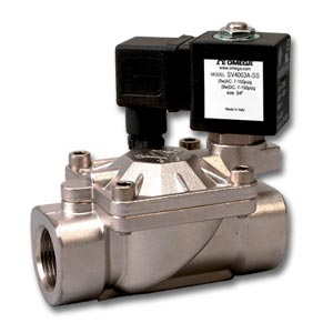 2-Way Hot Water and Steam Solenoid Valves | SV4000A Series