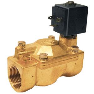 Brass 2-Way Solenoid Valves | SV6100 Series