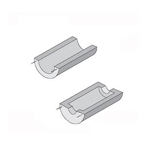 SemiCylindrical Ceramic Heaters | CRWS Series