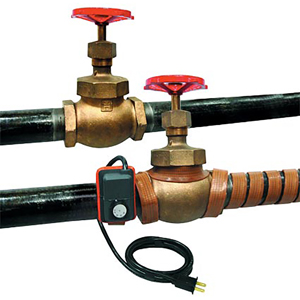 Heating Tapes for pipes with Adjustable Thermostat | Omega Engineering | HTWAT Series