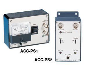 Accelerometer Power Supplies, Battery Powered | ACC-PS1 and ACC-PS2