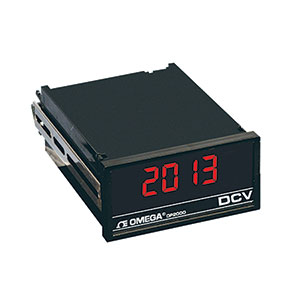 DC Voltmeter, Ammeter Indicator/ Controller, 1/8 DIN | DP2000-AB Series