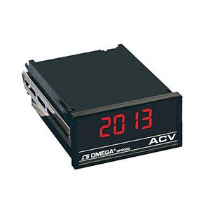 True RMS AC Voltmeter, Ammeter Indicator/Controller, 1/8 DIN | DP2000-CDFG Series