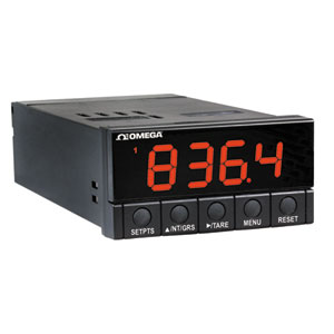 DP-25B Strain and Load Cell Meter & Controller Series  | Omega | DP25B-S