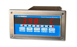 Dual-Channel Process Monitor 1/8 DIN Size | DP3300