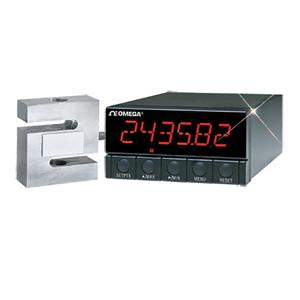 圧力変換器・ロードセル用メータ| 6桁表示ディスプレイ、1/8DINサイズ | オメガエンジニアリング | DP41-S