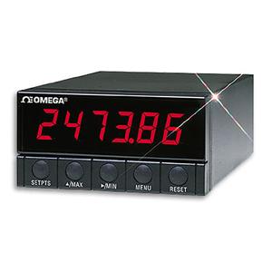 1/8 DIN 사이즈 전압, 전류, 온도, 압력 패널미터 | DP41 시리즈