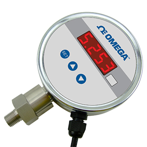 Stainless Steel AC Powered Pressure Gauge | Digital Display | DPG101