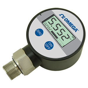 Stainless Steel Battery Powered Pressure Gauge with Display | DPG108