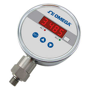 DC Powered Pressure Gauge with Digital Display, made from SS | DPG104-DPG104S