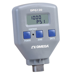 Rugged Digital Pressure Gauges Selectable Pressure Units | DPG120 Series