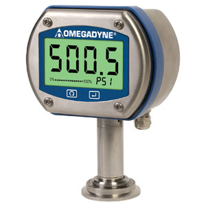 SANITARY/CLEAN-IN-PLACE DIGITAL PRESSURE GAUGE | DPG409S Series