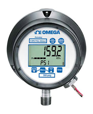 Industrial Digital Pressure Gauges - Line, Loop, or Battery Powered Models | DPG9000 Series