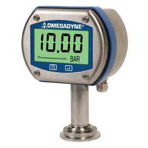 DIGITAL PRESSURE GAUGE for SANITARY/CLEAN-IN-PLACE aplications HIGH 0.08% ACCURACY | DPGM409S Series