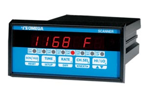Programmable Process Scanners, 1/8 DIN. 4-and 7- Channel Input | DPS3100