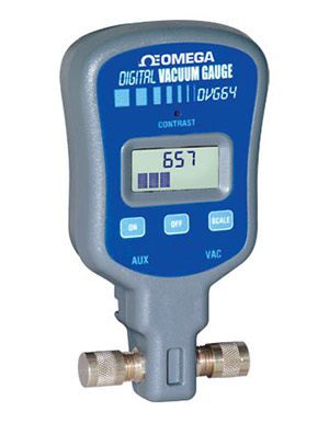 Digital Electronic Vacuum Pressure Gage | DVG-64