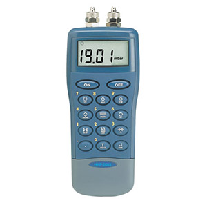 Handheld Digital Manometers, Ranges from 10.00 to 2815 INH20 with Leak Testing and Datalogging Options | HHP-2000