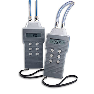 Wet/Wet or Dry Manometers for Differential, Gauge and Vacuum Pressure Measurements   HHP-801