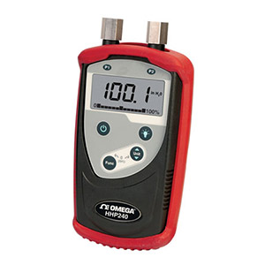 ハンドヘルドデジタル圧力計差圧、ゲージ圧、絶対圧力用 | HHP240シリーズ