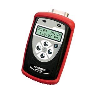 ハンドヘルドスマート圧力計差圧、ゲージ圧、絶対圧力用ゲージ圧および絶対圧力モデル ウェット | HHP350シリーズ