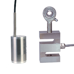 ALUMINUM S BEAM LOAD CELLS Metric, ±10 kgF to ±500 kgF | LCM105 and LCM115 Series