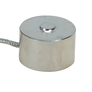19mm Diameter Stainless Steel Compression Load Cell, Metric, 0-100 to 0-5000 Newtons | LCM302 Series