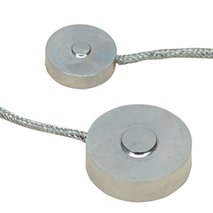 Subminiature Industrial Load Cell,  Metric, 0-10 to 0-10,000 Newtons | LCMKD Series
