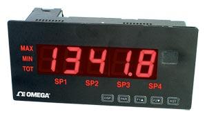 Large Display Meter for Strain Gage Bridge or Process Inputs | LDP63000-S, LDP63000-E