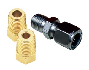 Metric Thread Adaptors & Compression Fittings | MTA and BRLK Series