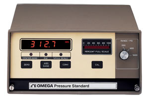 High Accuracy Pressure Standards, Microprocessor-Based Dual Display, Digital and Analog | PCL-3000