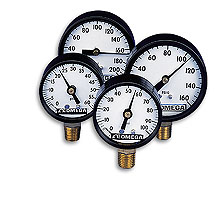 Pressure Gauges, air pressure gauge, dial gauge, dial gage | PGC Series