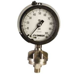 Pressure Gauge with Diaphragm Seal | PGR Series