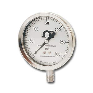 General Service Gauges, water pressure gages, psi pressure gauge | PGS Series