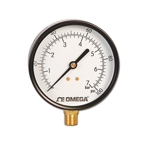 Utility Pressure Gauges,  Air pressure gauge, Water Pressure Gauge | PGU Series