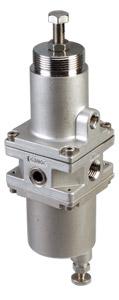 PRG350 Series:Stainless Steel Filter Regulators for Harsh Environments