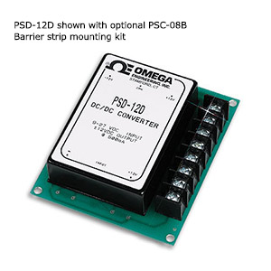 DC/DC Converters for Regulated Strain Gage and Transducer Excitation From an Unregulagted DC Source | PSD-5