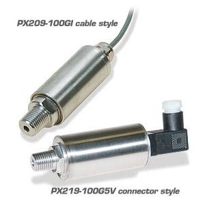 단종 - 게이지압, 절대압, 진공 측정 범용 압력변환기 | PX209 / PX219 시리즈