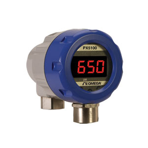 Small Rangeable Pressure Transmitter | Digital & High Pressure | PX5100 Rangeable Pressure Transmitter