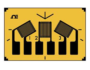 60ºデルタ型ロゼット ひずみゲージ | SGD_3-ELEMENT60 | SGD-3/120-RY621