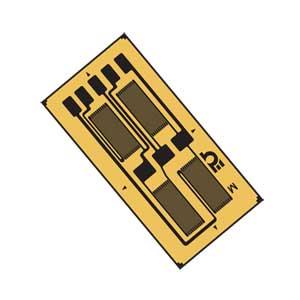 圧力センサ用ひずみゲージフルホイートストンブリッジ、 両振り曲げビーム / 反曲ビーム | SGT-3E, SGT-3F, SGT-3